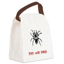 plays-with-spiders-3.tif Canvas Lunch Bag
