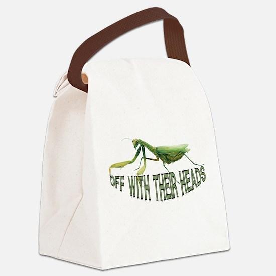FIN-praying-mantis.png Canvas Lunch Bag