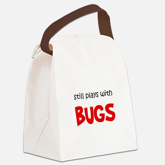 FIN-still-plays-bugs.png Canvas Lunch Bag
