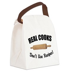 FIN-real-cooks-recipes.png Canvas Lunch Bag