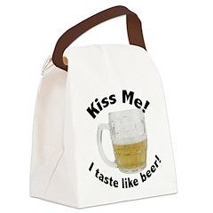 FIN-i-taste-like-beer.png Canvas Lunch Bag