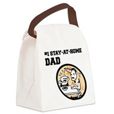 FIN-stay-at-home-dad.png Canvas Lunch Bag