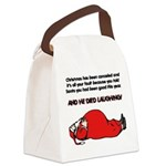 FIN-christmas-cancelled.png Canvas Lunch Bag
