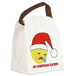 FIN-christmas-sucked.png Canvas Lunch Bag