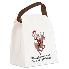 FIN-merry-christmas-to-all.png Canvas Lunch Bag