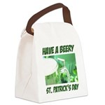 FIN-beery-st-patricks-day.png Canvas Lunch Bag