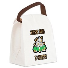 kiss-me-quit-smoking.png Canvas Lunch Bag