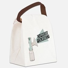 FIN-express-yourself.png Canvas Lunch Bag