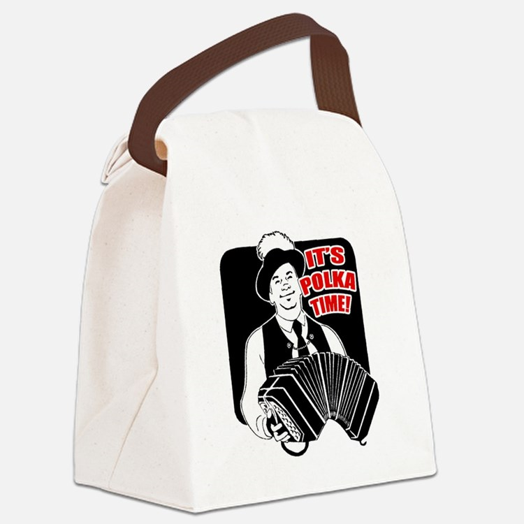FIN-its-polka-time.png Canvas Lunch Bag