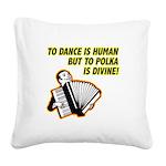 FIN-divine-polka-1000x1000.png Square Canvas Pillo