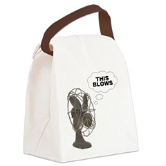FIN-this-blows.png Canvas Lunch Bag