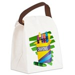 crayons.png Canvas Lunch Bag