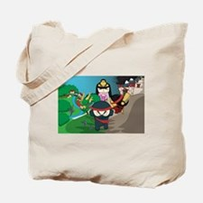 Dark Ninja - Action Adventure Game Tote Bag
