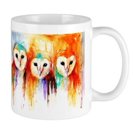 Row of Owls ~ Mug