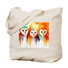 Row of Owls ~ Tote Bag
