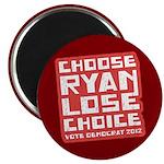 "Choose Ryan Lose Choice 2.25"" Magnet (100 pack)"
