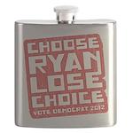 Choose Ryan Lose Choice Flask