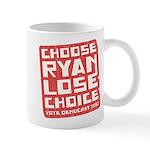 Choose Ryan Lose Choice Mug