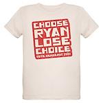 Choose Ryan Lose Choice Organic Kids T-Shirt