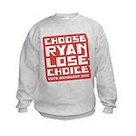 Choose Ryan Lose Choice Kids Sweatshirt