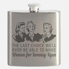 Women Last Choice Flask