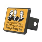 Women Last Choice Rectangular Hitch Cover
