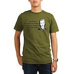 Paul Ryan Loves My Body Organic Men's T-Shirt (dar