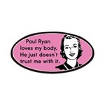 Paul Ryan Loves My Body Patches