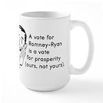 Vote Their Prosperity Large Mug