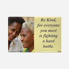'Be Kind' Rectangle Magnet