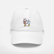 Samoyed Snowflake Baseball Baseball Cap