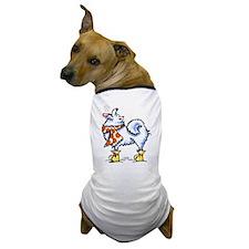 Samoyed Snowflake Dog T-Shirt