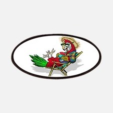 Parrot Beach Chair Patches