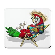 Parrot Beach Chair Mousepad