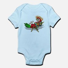 Parrot Beach Chair Infant Bodysuit