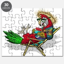Parrot Beach Chair Puzzle