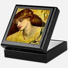 Sancta Lilias by Rossetti Keepsake Box