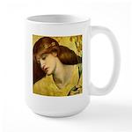 Sancta Lilias by Rossetti Large Mug