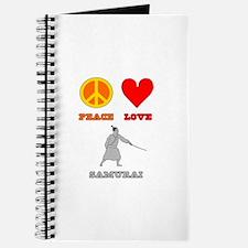 Peace Love Samurai Journal