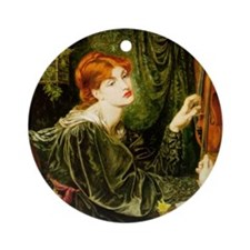 Veronica Veronese by Rossetti Ornament (Round)