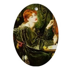 Veronica Veronese by Rossetti Ornament (Oval)