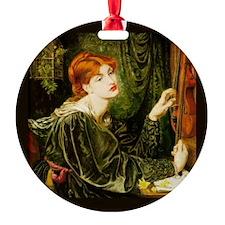 Veronica Veronese by Rossetti Ornament