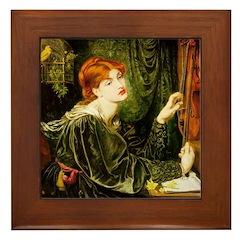 Veronica Veronese by Rossetti Framed Tile