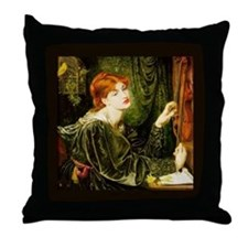 Veronica Veronese by Rossetti Throw Pillow