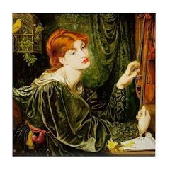 Veronica Veronese by Rossetti Tile Coaster