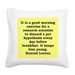 10.png Square Canvas Pillow