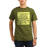 10.png Organic Men's T-Shirt (dark)