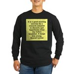 10.png Long Sleeve Dark T-Shirt
