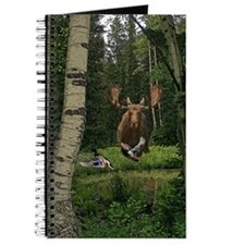 Moose at water hole Journal