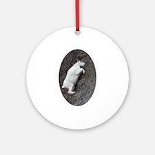 Mountain Goat Ornament (Round)